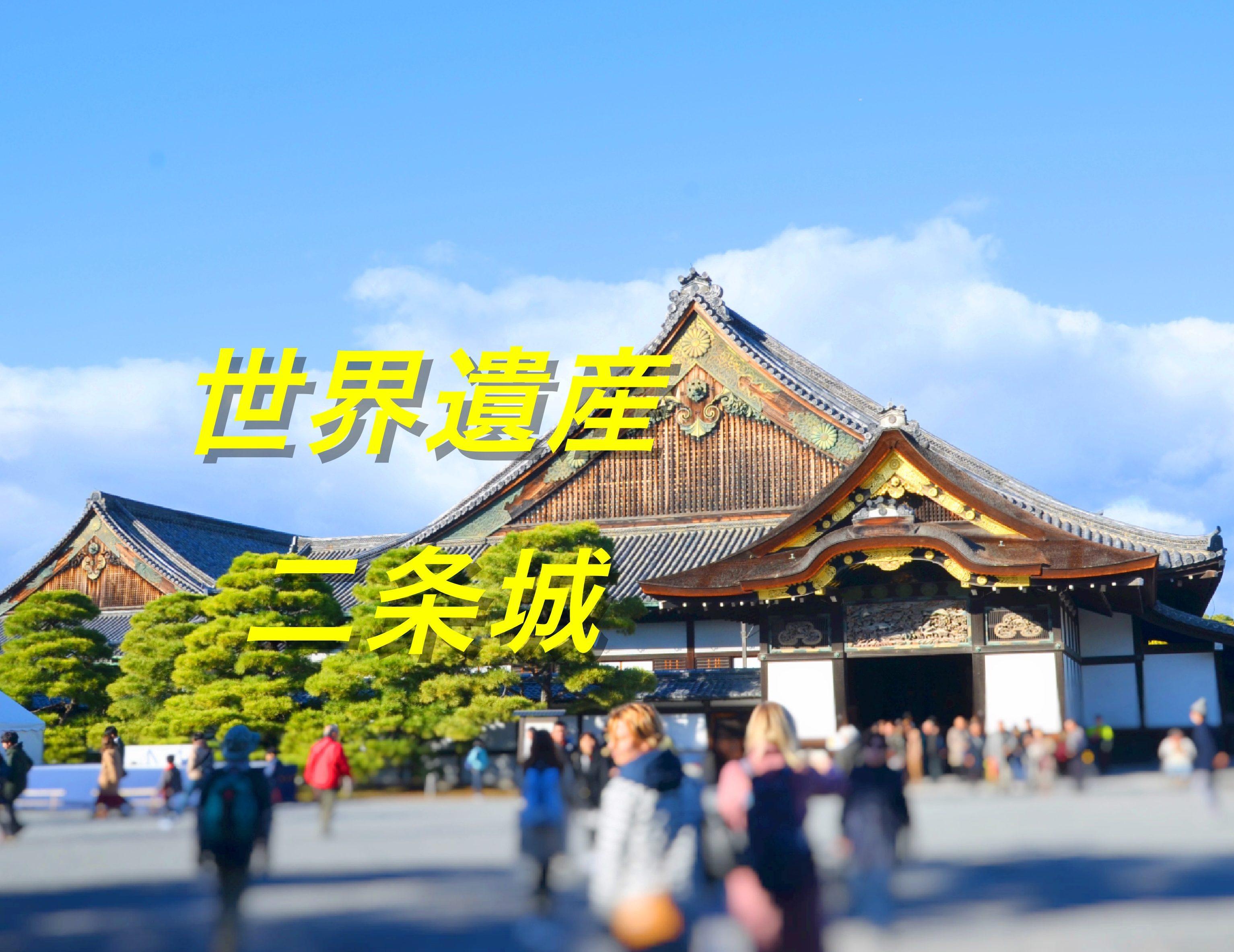 大政奉還の間も見れる!世界遺産、二条城で日本の歴史を知る