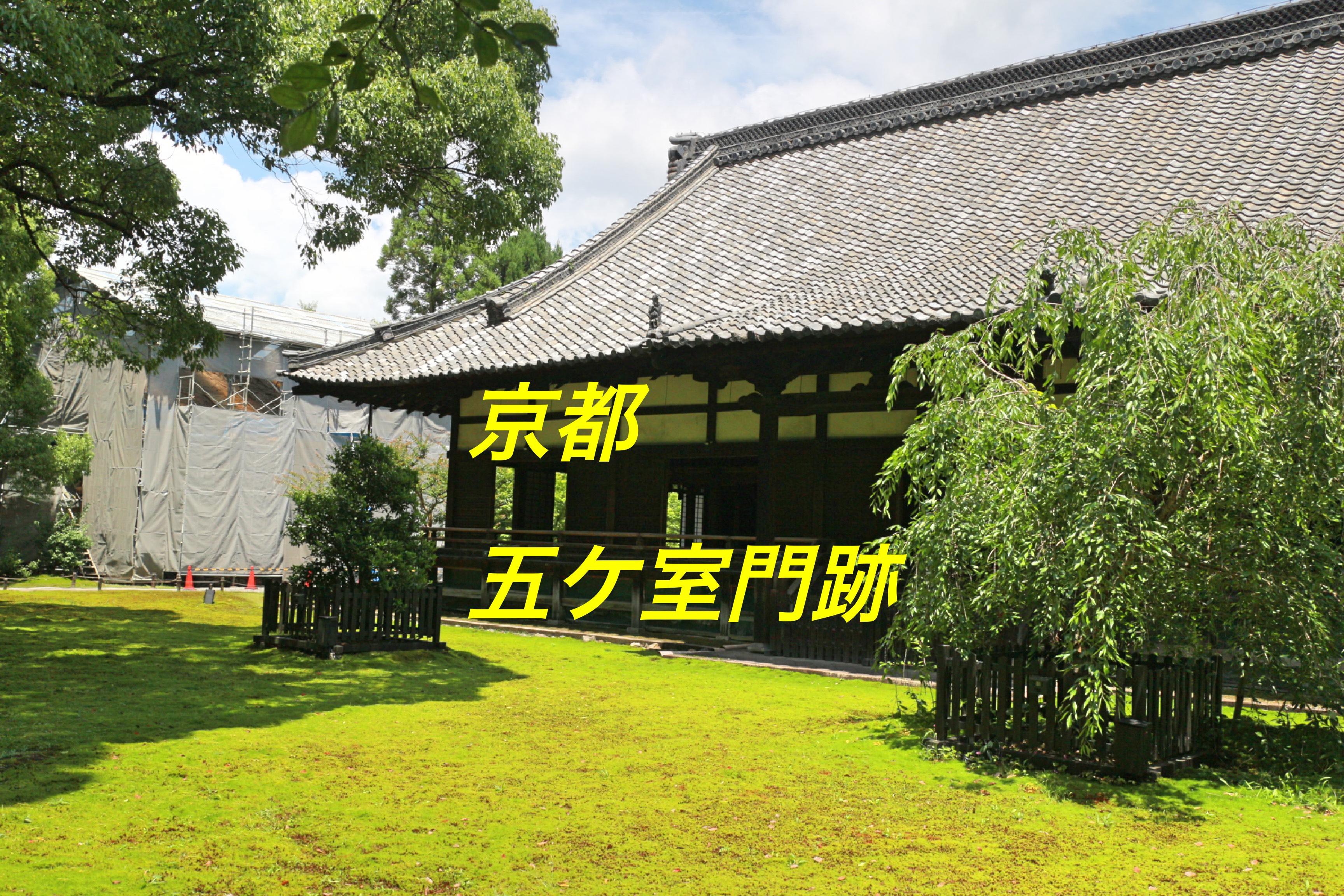 天台宗五ケ室門跡とは!?京都の格式高い寺院でご利益を頂く