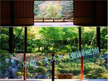 オススメを3つご紹介!京都で絵画のような額縁庭園が見れるお寺