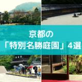 【特別名勝庭園】京都のお庭ならココ!京都観光でマストな、必ず行きたいお庭4選!